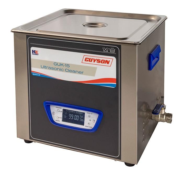 Bac de lavage ultrasons de 15 litres